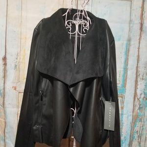 NWT Bagatelle Faux Leather Dress Jacket XL